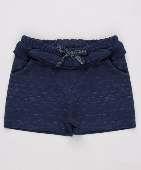 Short-Infantil-com-Bolsos-e-Babado-em-Moletom-Azul-Marinho-9744282-Azul_Marinho_1