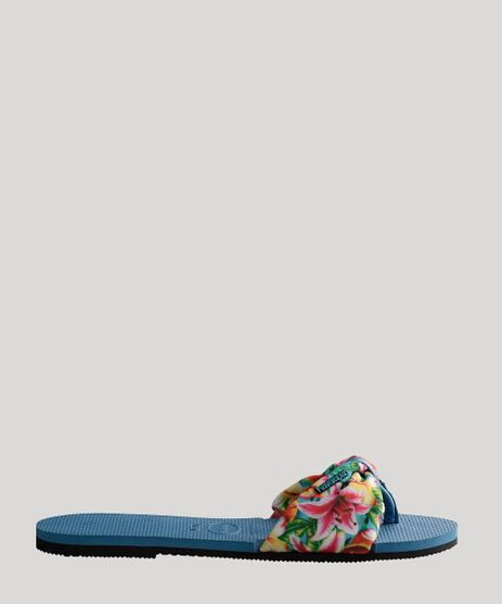 Rasteira-Feminina-Havaianas-You-St--Tropez-Estampado-Floral-Azul-9716606-Azul_1