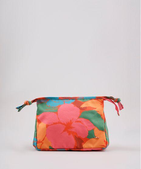 Necessaire-Feminina-Salinas-Estampada-Floral-Laranja-9797237-Laranja_1