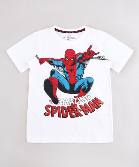 Camiseta-Infantil-Homem-Aranha-Manga-Curta-Off-White-9742568-Off_White_1