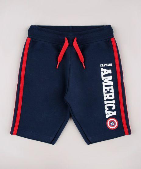 Bermuda-Infantil-Capitao-America-em-Moletom--Azul-Marinho-9734425-Azul_Marinho_1