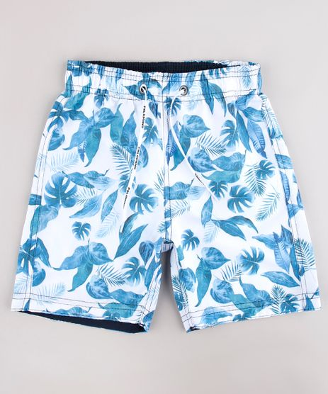 Bermuda-Surf-Infantil-Estampada-de-Folhagens-Off-White-9765550-Off_White_1