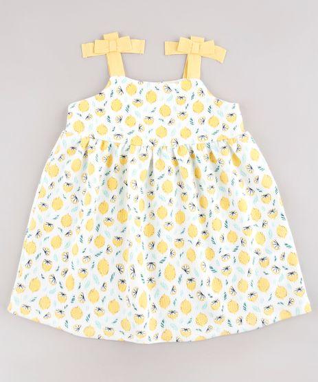 Vestido-Infantil-Estampado-de-Limoes-com-Lacos-Alca-Media-Branco-9664215-Branco_1