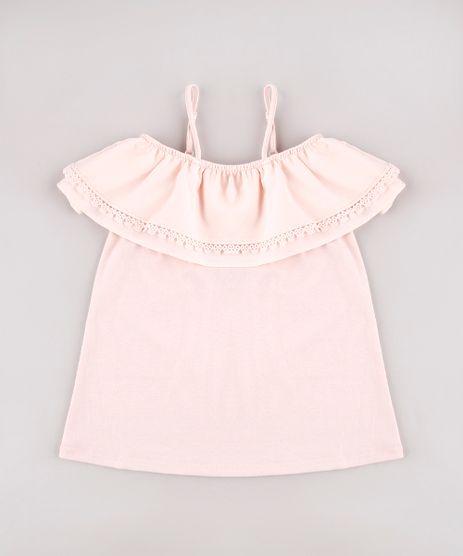 Blusa-Infantil-Open-Shoulder-com-Aviamento-Manga-Curta-Rosa-Claro-9583972-Rosa_Claro_1