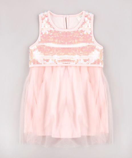 Vestido-Infantil-em-Tule-com-Paete-Sem-Manga-Rosa-Claro-9584036-Rosa_Claro_1