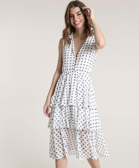 Vestido-Feminino-Mindset-Midi-em-Camadas-Estampado-de-Poa-Sem-Manga--Off-White-9837421-Off_White_1