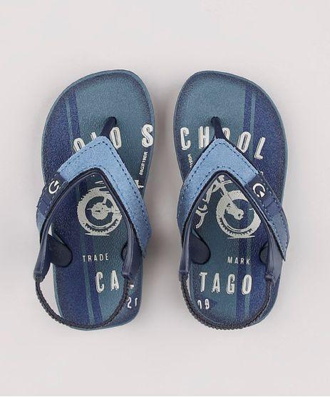 Chinelo-Infantil-Cartago-com-Elastico-Azul-9824029-Azul_1