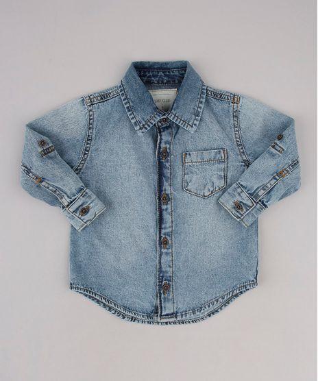 Camisa-Jeans-Infantil-com-Bolso-Manga-Longa-Azul-Claro-9760449-Azul_Claro_1