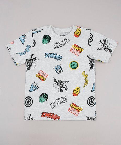Camiseta-Infantil-Os-Vingadores-Manga-Curta-Cinza-Mescla-Claro-9736746-Cinza_Mescla_Claro_1