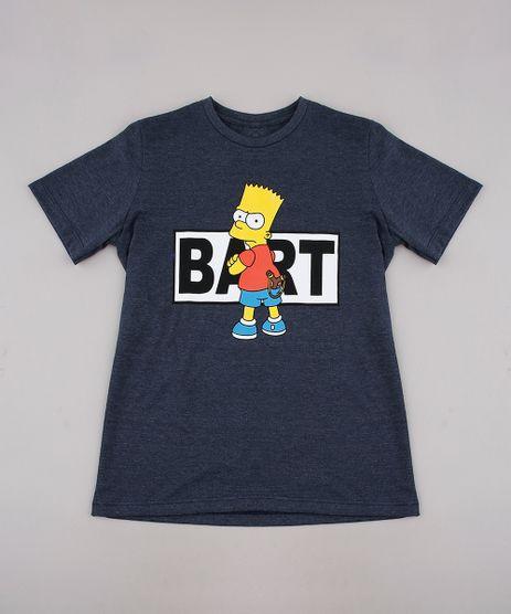 Camiseta-Infantil-Bart-Simpson-Manga-Curta-Cinza-Mescla-Escuro-9730855-Cinza_Mescla_Escuro_1