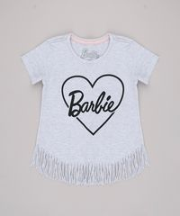 Blusa-Infantil-Barbie-com-Franjas-Manga-Curta-Cinza-Mescla-Claro-9757210-Cinza_Mescla_Claro_1