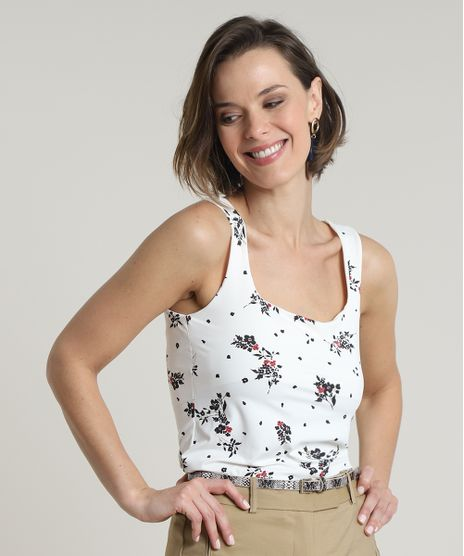 Regata-Feminina-Estampada-Floral-Decote-Reto-Off-White-9754891-Off_White_1