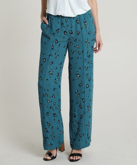 Calca-Feminina-Pantalona-Cintura-Alta-Estampada--Azul-Petroleo-9647702-Azul_Petroleo_1