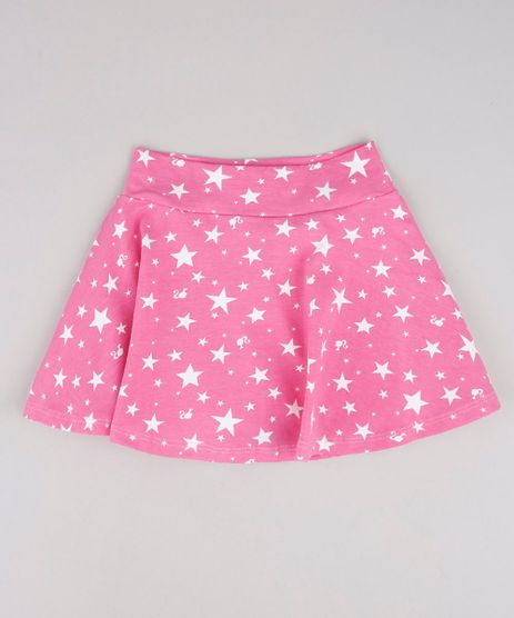 Short-Saia-Infantil-Barbie-Estampado-Rosa-9762708-Rosa_1