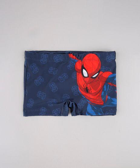 Sunga-Infantil-Boxer-Homem-Aranha-Estampada-Azul-Marinho-9743155-Azul_Marinho_1