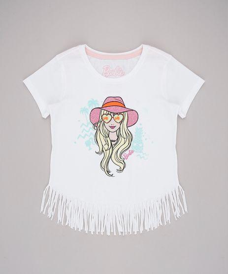 Blusa-Infantil-Barbie-com-Franjas-Manga-Curta-Off-White-9757209-Off_White_1