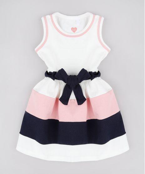Vestido-Infantil-com-Recortes-e-Laco-Sem-Manga-Off-White-1-9236122-Off_White_1_1