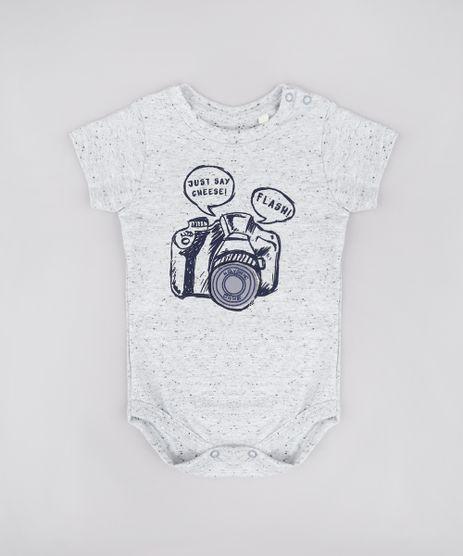 Body-Infantil-com-Estampa-Interativa-de-Camera-Manga-Curta-Cinza-Mescla-Claro-9795090-Cinza_Mescla_Claro_1
