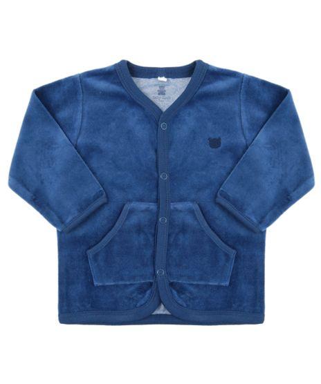 Cardigan-em-Plush-de-Algodao---Sustentavel-Azul-Marinho-8479684-Azul_Marinho_1