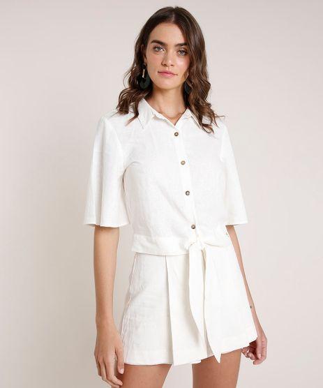 Camisa-Feminina-Agua-de-Coco-com-Linho-Bordado-de-Coqueiros-Manga-Curta-Off-White-9677875-Off_White_1