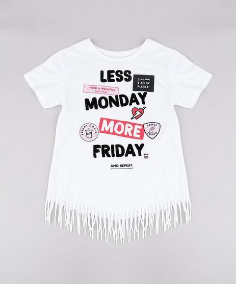 Blusa-Infantil--Less-Monday-More-Friday--com-Franjas-Manga-Curta-Decote-Redondo-Off-White-9741319-Off_White_1