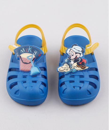 Sandalia-Infantil-Grendene-Mickey-com-Tiras-Azul-9829519-Azul_1