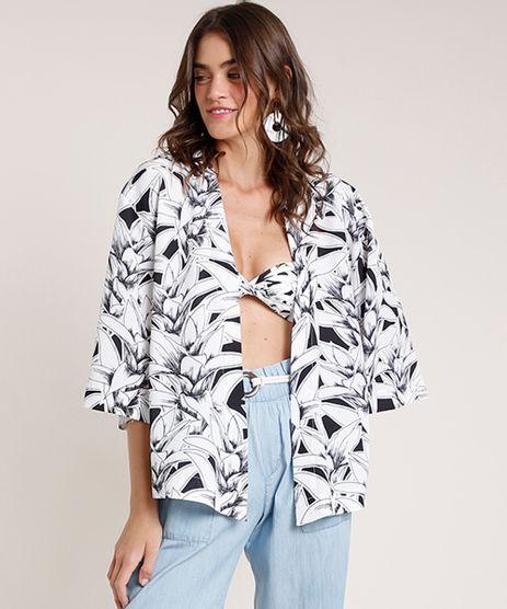 Kimono-Feminino-Agua-de-Coco-Estampado-Bromelia-Colorida-Branco-9677883-Branco_1