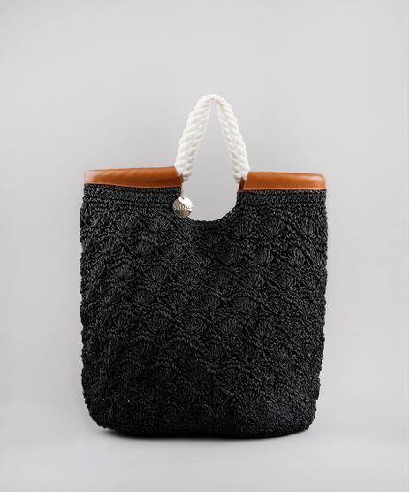 Bolsa-Feminina-Salinas-Shopper-Grande-em-Palha-com-Textura--Preto-9705755-Preto_1