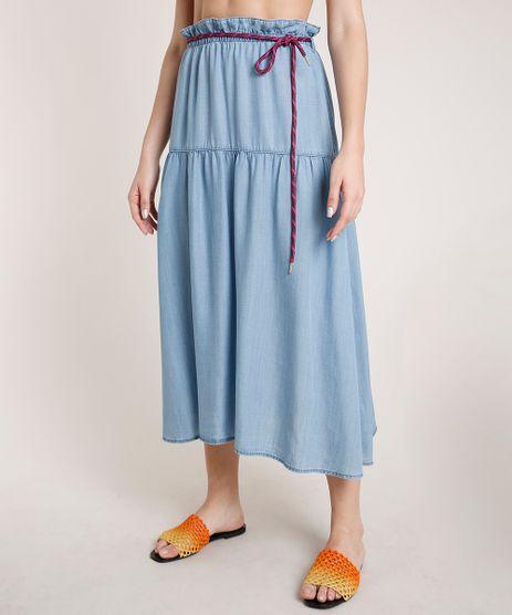 Saia-Jeans-Feminina-Triya-Midi-com-Cadarco-Azul-Claro-9810531-Azul_Claro_1