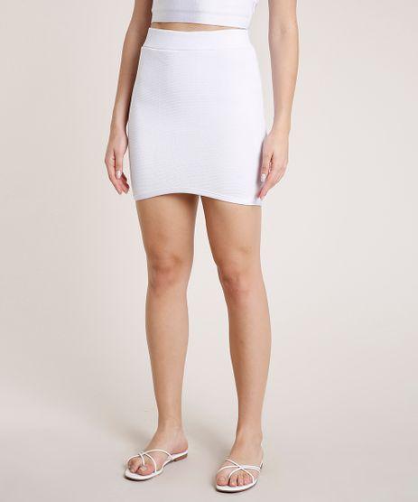 Saia-Feminina-Triya-Curta-Bandagem-Branca-9783087-Branco_1