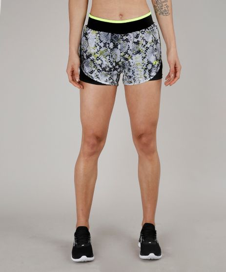 Short-Feminino-Running-Esportiva-Ace-Estampado-Animal-Print--Kaki-9654153-Kaki_1