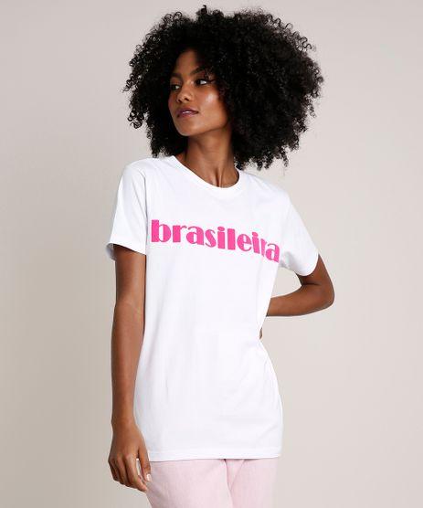 T-Shirt-Feminina-Mindset--Brasileira--Manga-Curta-Decote-Redondo-Branca-9837427-Branco_1