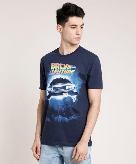 Camiseta-Masculina-De-Volta-Para-o-Futuro-Manga-Curta-Gola-Careca-Azul-Marinho-9759812-Azul_Marinho_1