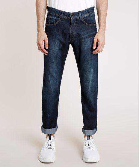 Calca-Jeans-Masculina-Reta-Azul-Escuro-9776595-Azul_Escuro_1