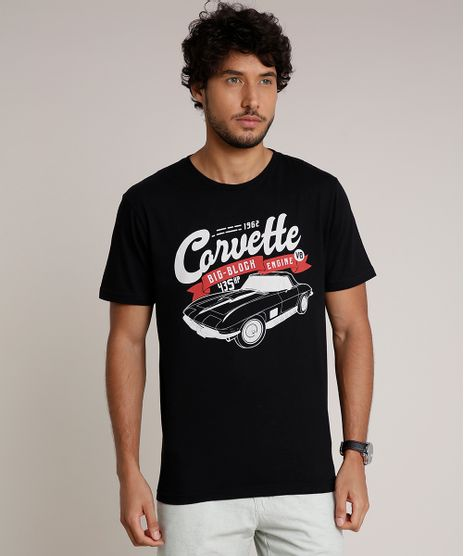 Camiseta-Masculina-Corvette-Manga-Curta-Gola-Careca-Preta-9832860-Preto_1