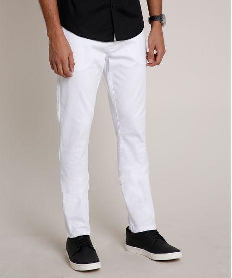 Calca-Masculina-Slim-com-Chaveiro-Branca-9769384-Branco_1