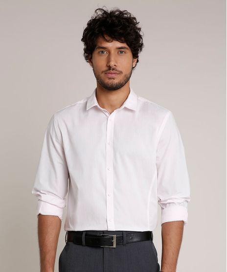 Camisa-Masculina-Slim-com-Vivo-Contrastante-Manga-Longa-Rosa-Claro-9657163-Rosa_Claro_1