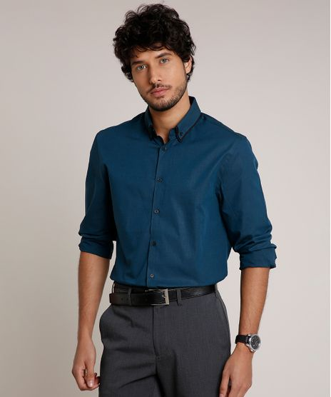Camisa-Masculina-Comfort-Manga-Longa-Azul-Petroleo-9509135-Azul_Petroleo_1