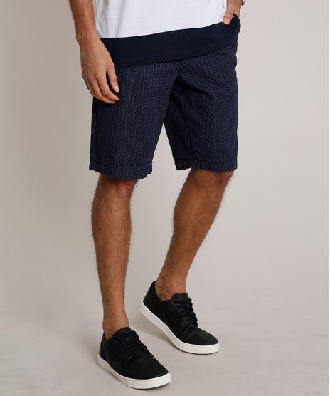Bermuda-Masculina-Estampada-Mini-Print--Azul-Marinho-9754102-Azul_Marinho_1
