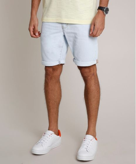 Bermuda-Jeans-Masculina-Reta-Azul-Claro-9672873-Azul_Claro_1