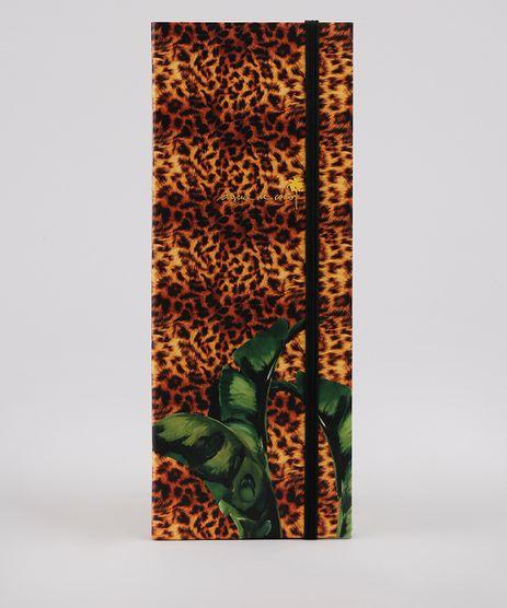 Bloco-Planner-Agua-de-Coco-Semanal-Duplo-Estampado-Bananeira-Animal-Print-23-cm-x-9-cm-Caramelo-9797262-Caramelo_1