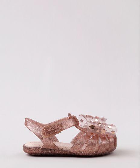 Sandalia-Infantil-Zaxy-Nina-com-Glitter-e-Laco-Rose-Escuro-9829521-Rose_Escuro_1