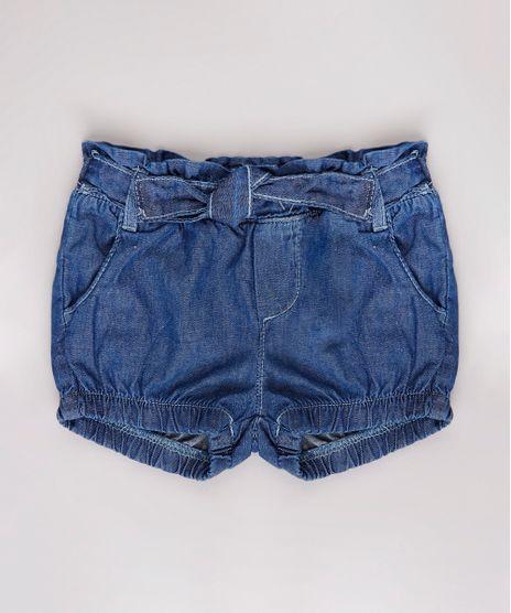 Short-Jeans-Infantil-Balone-com-Babado-e-Laco-Azul-Escuro-9804712-Azul_Escuro_1