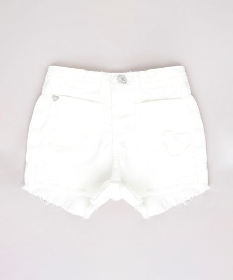 Short-de-Sarja-Infantil-com-Bolsos-Barra-Desfiada-Off-White-9673657-Off_White_1