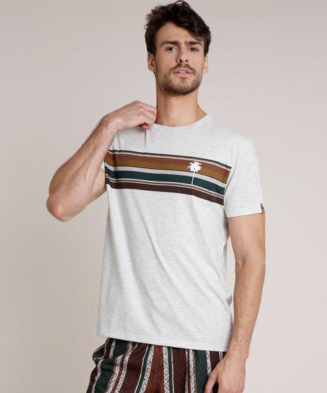 Camiseta-Masculina-Agua-de-Coco-com-Listras-Manga-Curta-Gola-Careca-Cinza-Mescla-Claro-9702014-Cinza_Mescla_Claro_1