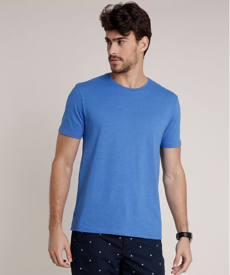 Camiseta-Masculina-Basica-Manga-Curta-Gola-Careca-Azul-9725318-Azul_1