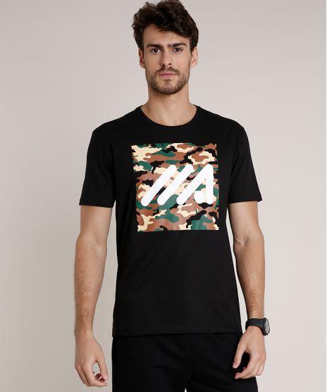 Camiseta-Masculina-Esportiva-Ace-com-Estampa-Camuflada-Manga-Curta-Gola-Careca-Preta-9716366-Preto_1