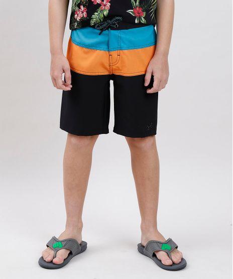 Bermuda-Surf-Infantil-Blueman-Color-Block-com-Bolso-Preta-9702807-Preto_1