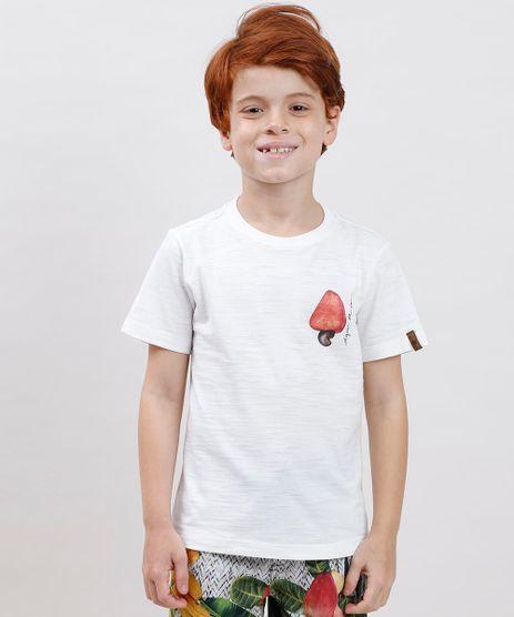 Camiseta-Infantil-Agua-de-Coco-Caju-Manga-Curta-Off-White-9808687-Off_White_1