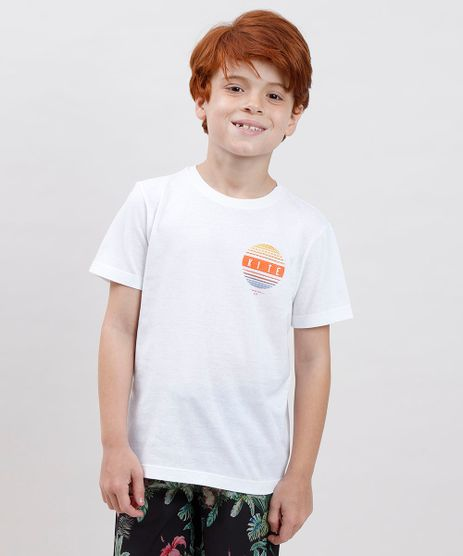 Camiseta-Infantil-Blueman--Kite--Manga-Curta-Off-White-9808689-Off_White_1